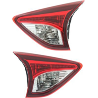 Fits 13-16 Mazda CX-5 Left & Right - Set Tail Lamp Assembly Lid Mounted