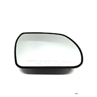 Fits 07-12 Veracruz Heated Right Passenger Convex Mirror Glass w/ Rear Holder Models w/out  Auto Dimming