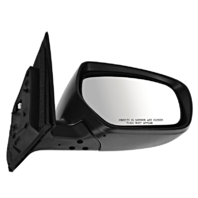 Fits 10-15  CX9 Right Pass Power Mirror Unpainted W/Heat, Signal