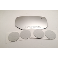 Fits 16-17 Ac ILX Right Pass Mirror Glass Lens Models w/Blindspot Detection Icon