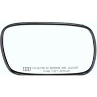 99-01 Cherokee Right Pass Convex Heated Mirror Glass w/ Rear Holder