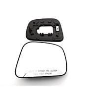 Fits 07-12 Nissan Versa Right Pass Mirror Glass w/ Rear Holder