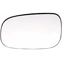 Left Driver Heated Mirror Glass w/Rear Holder for Volvo C30 S40,S60,S80 V50, V70