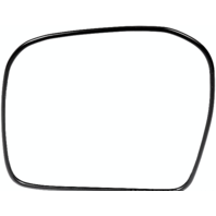 Left Driver Power Mirror Glass w/ Rear Holder for 00-02 Toy 4Runner 00-04 Tacoma