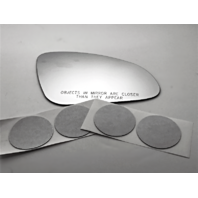 Fits 16-18 Buick Cascada Right Passenger Convex Mirror Glass Lensw / Adhesive