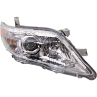 Fits 10-11 Camry Right Passgr Headlight Assem w/ Clear Lens (USA built only)