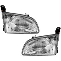 Fits 98-00  Sienna Driver Side & Passenger Side Headlamp Assemblies (pair)