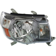 Fits 05-11 Toy Tacoma Right Passenger Side Headlight Assembly w/Black Bezel