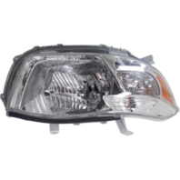 Fits 08-10  Highlander (except Hybrid) Right Passenger Headlamp Assy Clear Lens