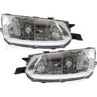Fits 99-01 Toy Solara Driver Side & Passenger Side Headlamp Assemblies (pair)