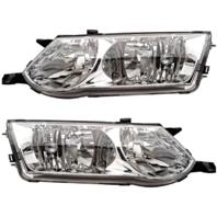 Fits 02-03  Solara Driver Side & Passenger Side Headlamp Assemblies (pair)
