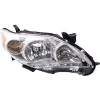 Fits 11-13 Toy Corolla Right Passenger Side Headlamp Assem w/Chrome Housing