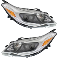 Left & Right Halogen Headlight Assmblies Set for 11-12 Toy Avalon