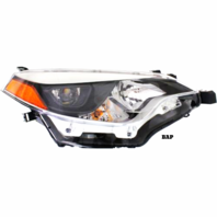 Fits 14-16  COROLLA RIGHT PASSENGER HEADLAMP ASSEMBLY