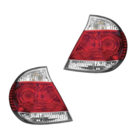 Fits 05-06  CAMRY LEFT & RIGHT SET TAIL LAMP ASSEMBLES With CHROME TRIM