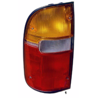 Fits 95-00  TACOMA LEFT DRIVER TAIL LAMP ASSEMBLY