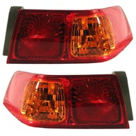 Fits 00-01 Toyota CAMRY LEFT & RIGHT SET TAIL LAMP ASSEMBLES QUARTER MOUNTED