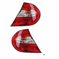 FITS 02-04 TOYOTA CAMRY LEFT & RIGHT SET TAIL LAMP ASSEMBLES