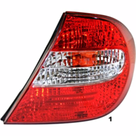 Fits 02-04  CAMRY RIGHT PASSENGER TAIL LAMP ASSEMBLY