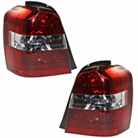 FITS 04-07 TOYOTA HIGHLANDER LEFT & RIGHT SET TAIL LAMP UNIT ASSEMBLES