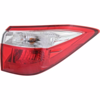 Fits 14-16  COROLLA RIGHT PASSENGER TAIL LAMP ASSEMBLY QUARTER MOUNTED