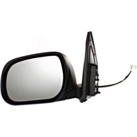 Fits 09-12  Rav4 Left Driver Mirror Power w/out Ht, Sig Japan Built Models