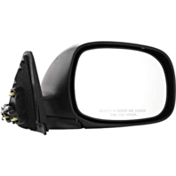 Fits 00-06 Tundra Excludes Double Cab Right Pass Mirror Power Chrome w/o Heat