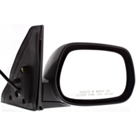 Fits 01-05 Toyota Rav4 Right Passenger Mirror Power Non-Painted Black With Heat