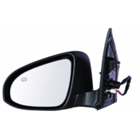 Fits 14-17  Corolla Left Driver Power Mirror Assm Heated w/ Signal