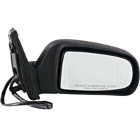 Fits 98-03  Sienna Right Passenger Mirror Power With Heat Unpainted Black
