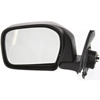Fits 00 Toyota Tacoma Left Driver Mirror Manual Black Folding Unpainted