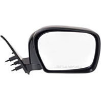 Fits 00  Tacoma Right Passenger Mirror Manual Black Folding Unpainted