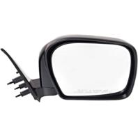 Fits 00 Toyota Tacoma Right Passenger Mirror Manual Black Folding Unpainted