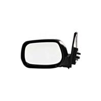 Fits 01-05 Toyota Rav4 Left Driver Mirror Manual Non-Painted Black