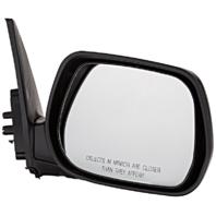 Fits 01-05 Toyota Rav4 Right Passenger Mirror Manual Non-Painted Black