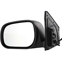 Fits 06-08  Rav4 Left Driver Power Mirror Non-Painted Black