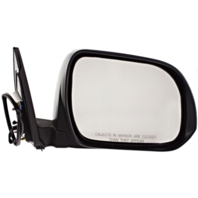 Fits 08-13 Highlander/Hybrid Right Pass Mirror Power Non-Painted No Heat or Lamp