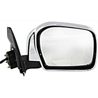 Fits 12-15  Tacoma Right Passenger Power Mirror Chrome With Signal No Heat