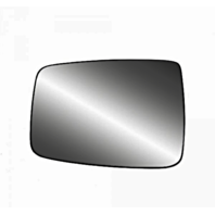 Fits Ram Pickup 1500 2500 3500 Left DR Mirror Glass  w/ Holder Single Lens Type