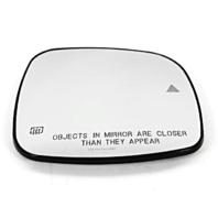 Fits 11-18 Grd Caravan T&C Right Pass Glass w/Heat Blind Spot Detect, Back Plate