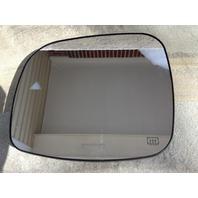 Fits 11-18 Grd Caravan T&C Left Mirror Glass w/Heat Blind Spot Detect Back Plate