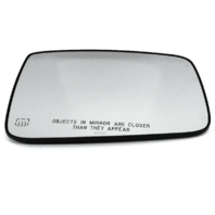 Right Heated Auto Dim Mirror Glass w/ Holder for 09-17 Ram 1500 10-17 2500 3500