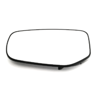 Fits 13-16 Dodge Dart Left Driver Mirror Glass w/Rear Holder non Folding OE