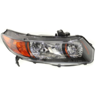 Fits 06-09  Civic Coupe Si 2.0L Right Pass Headlamp Assembly w/Amber Signal