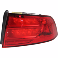 Fits 04-08 Acura TL Right Passenger Tail Lamp Unit with Red Lens
