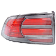 Fits 04-08 Acura TL Type S Left Driver Tail Lamp Assembly with Chrome Trim