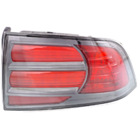 Fits 04-08 Acura TL Type S Right Passenger Tail Lamp Assembly with Chrome Trim