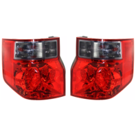 Fits 03-08 Honda Element Left & Right Set Tail Lamp Unit with Bright Red Lens