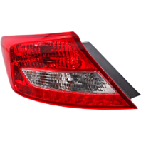 Fits 12-14 Honda Civic Coupe Left Driver Tail Lamp Assembly
