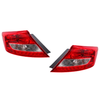 Fits 12-14 Honda Civic Coupe Left & Right Set Tail Lamp Assemblies